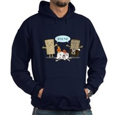 Flaming Marshmallow - Group Hug! Hoodie
