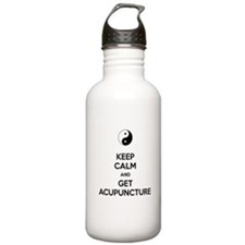 Keep Calm Get Acupuncture Water Bottle