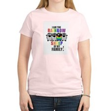 Rainbow Family Sheep T-Shirt