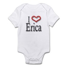 I Heart Erica Infant Bodysuit