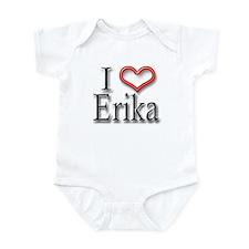 I Heart Erika Infant Bodysuit