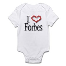 I Heart Forbes Infant Bodysuit