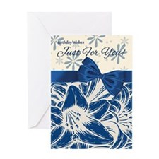 Floral Special You Birthday Card