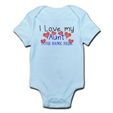 I Love My Aunt (Your Name) Body Suit