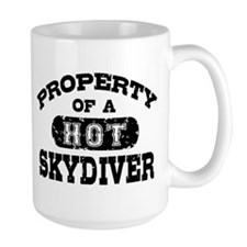 Property of a Hot Skydiver Mug