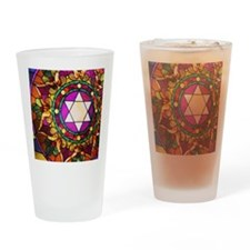 Stained Glass Drinking Glass