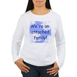 Attachment Parenting Women's Long Sleeve T-Shirt