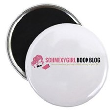 Schmexy Girl Book Blog Logo Magnet