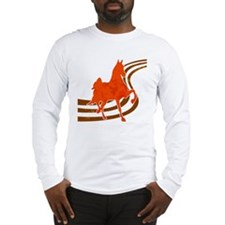 Retro Saddlebred Long Sleeve T-Shirt