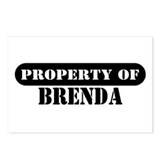 Property of Brenda Postcards (Package of 8)