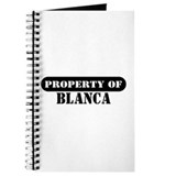 Property of Blanca Journal