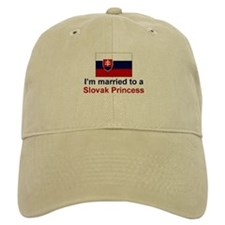 Married To Slovak Princess Baseball Cap