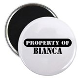 Property of Bianca 2.25&quot; Magnet (10 pack)