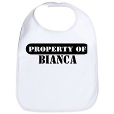 Property of Bianca Bib