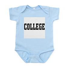 College Infant Bodysuit
