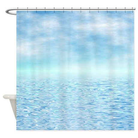 ... Gifts > Beautiful Bathroom Décor > Sea of Serenity Shower Curtain