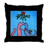 Funny Noel Throw Pillow