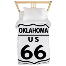 U.S. ROUTE 66 - OK Twin Duvet