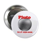 "Pluto - Revolve in Peace 2.25"" Button (100 pack)"