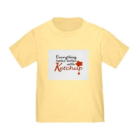 Ketchup Toddler T-Shirt