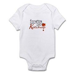Ketchup Infant Bodysuit