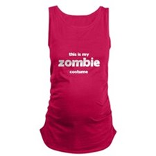 This Is My Zombie Costume Dark Maternity Tank Top