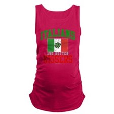 Italians Are Better Kissers Dark Maternity Tank To