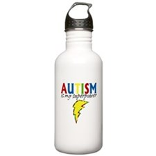 Autism is my Superpower Water Bottle
