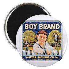 Fruit Crate Label Vintage Magnet
