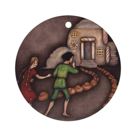 Harbour's Hansel & Gretel Ornament (Round)