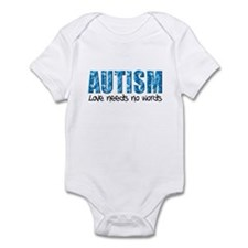 Autism Love Needs No Words Infant Bodysuit