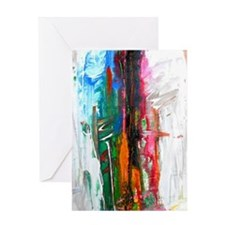 abstract thoughts Greeting Card