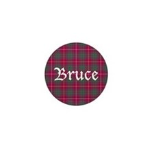 Tartan - Bruce Mini Button (10 pack)