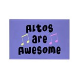 Altos Are Awesome Rectangle Magnet