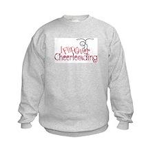I Flip Over Cheerleading Sweatshirt