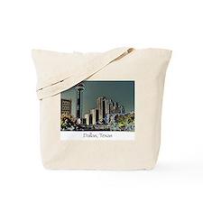 Dallas in Neon Tote Bag