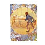 Tarrant's Sleeping Beauty Postcards (Package of 8)