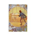 Tarrant's Sleeping Beauty Rectangle Magnet (10 pac