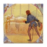 Tarrant's Sleeping Beauty Tile Coaster