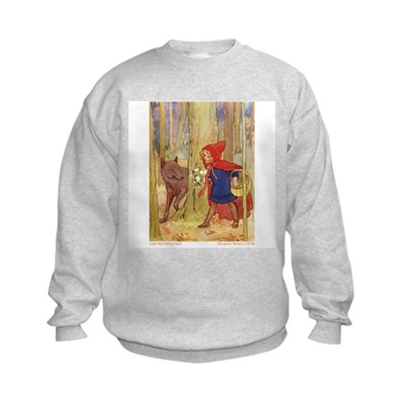 Tarrant's Red Riding Hood Kids Sweatshirt