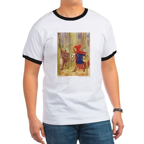 Tarrant's Red Riding Hood Ringer T