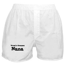 World's Greatest: Nana Boxer Shorts