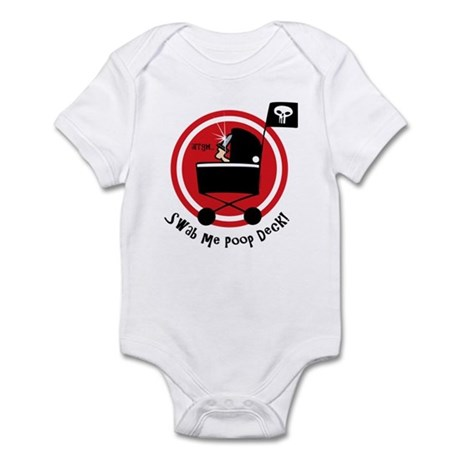 Pirate Poop Deck Infant Bodysuit
