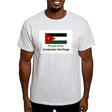 Jordanian Heritage Ash Grey T-Shirt