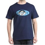 Blue In One Ear Dark T-Shirt