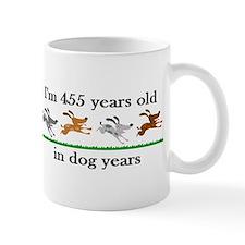 65 dog years birthday 2 Mug