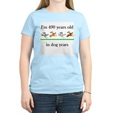 70 birthday dog years 1 T-Shirt