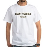 Cesky Terrier Fan Club Shirt