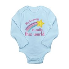 Grammy is Outta This World Long Sleeve Infant Body