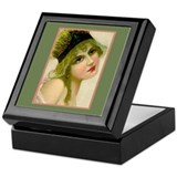 Flapper - Monique Keepsake Box